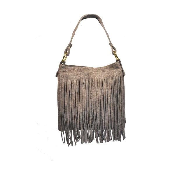 Kožená kabelka Frangia Grey