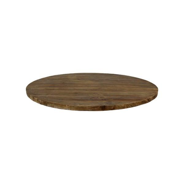 Kerek teakfa asztallap, ⌀150cm - HMS collection
