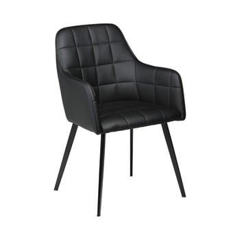 Scaun din piele ecologică DAN-FORM Denmark Embrace, negru de la DAN-FORM Denmark