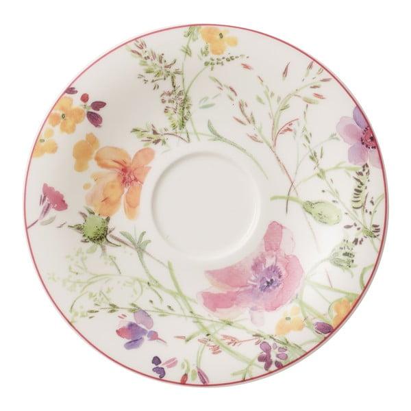Porcelánový podšálek s motivem květin Villeroy & Boch Mariefleur Tea, ⌀ 16 cm