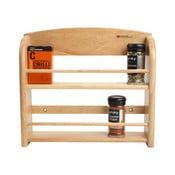 Raft din lemn pentru mirodenii T&G Woodware Scimitar, pentru 12 borcănele