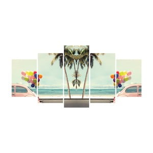 Vícedílný obraz La Maison Des Couleurs Riviera