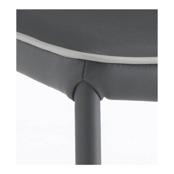 Sada 4 šedých jídelních židlí Tomasucci Kable