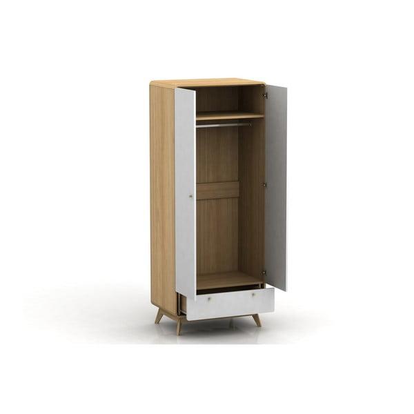 Dvoudveřová šatní skříň Støraa Caitlin