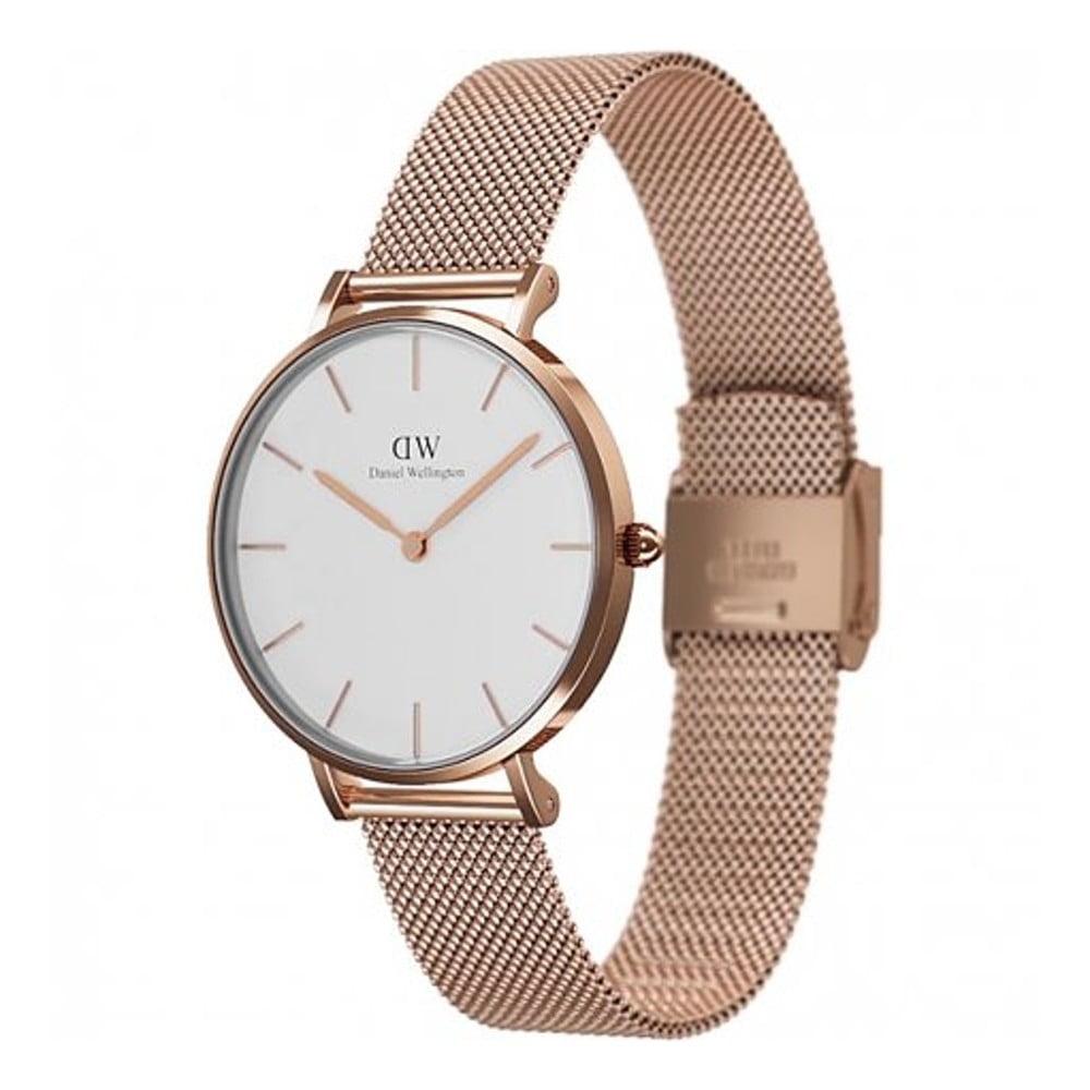 22039f5e53e Dámské růžově zlaté hodinky Daniel Welington Melrose