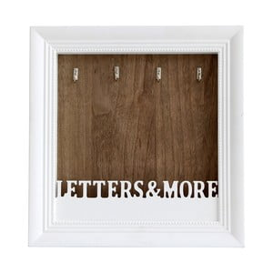 Věšák na klíče a dopisy Flair