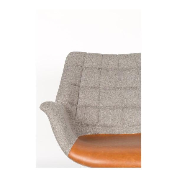 Šedá židle Zuiver Doulton
