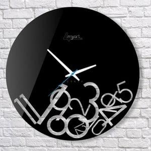 Nástěnné hodiny Confusion