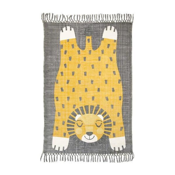 Detský ručne potlačený koberec Nattiot Baba, 110 x 170 cm
