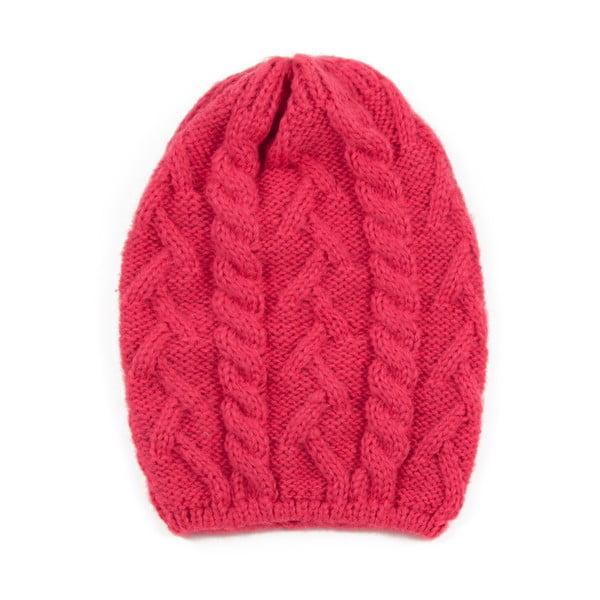 Čepice Knitted Pink