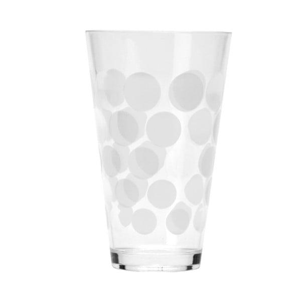 Sklenice Dot Dot 300 ml, bílá