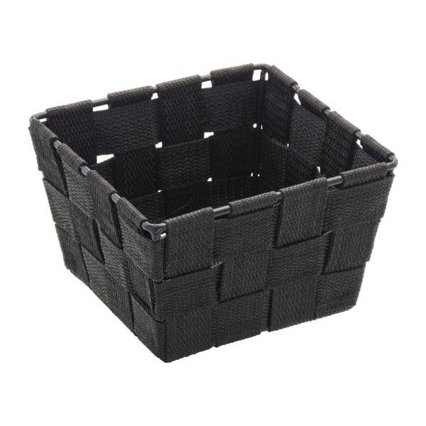 Czarny koszyk Wenko Adria, 14x14 cm