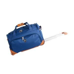 Modrá cestovní taška na kolečkách GENTLEMAN FARMER Sporty, 88 l