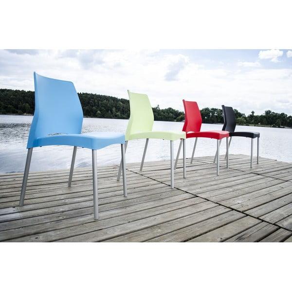 Židle Breeze Blue, vhodná do interiéru i exteriéru