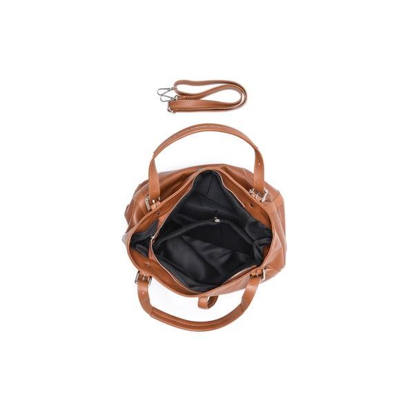 Kožená kabelka Isabella Rhea 2109 Cognac
