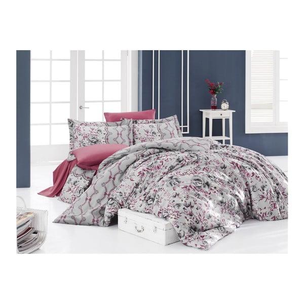 Lenjerie de pat cu cearșaf Amore, 200 x 220 cm