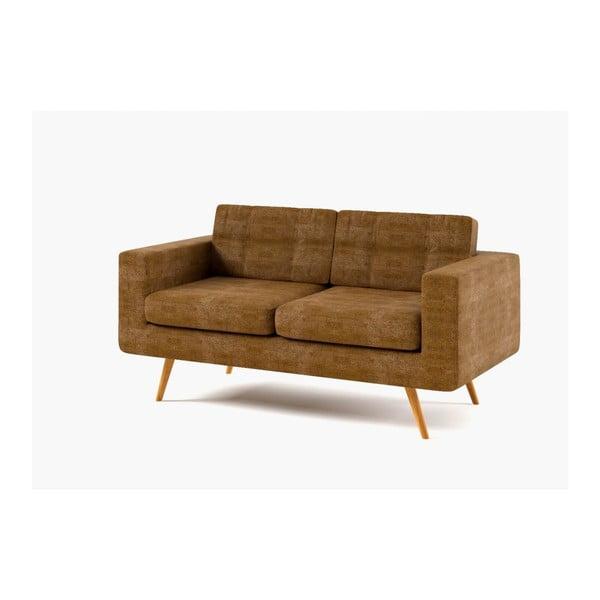 Sofa New York, menší, zlaté
