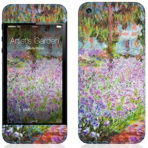Samolepka na iPhone 5/5S, Artist's Garden at Giverny