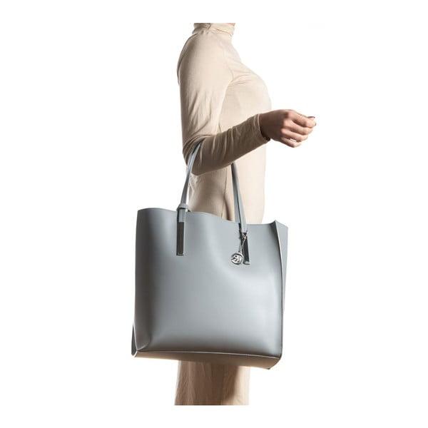 Kožená kabelka Isabella Rhea 3020 Grigio