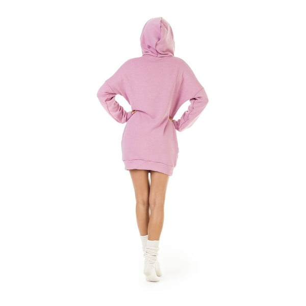 Mikina Signature Pink, velikost L