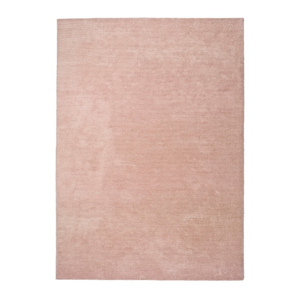 Produktové foto Světle růžový koberec Universal Shanghai Liso, 160x230cm