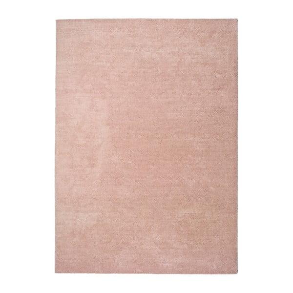 Covor Universal Shanghai Liso Rosa, 60 x 110 cm, roz