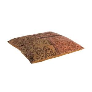 Polštář s náplní Twist Arancio, 100x100 cm