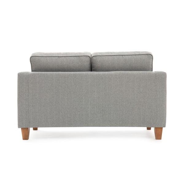 Canapea cu 2 locuri Vivonia Sorio, gri deschis