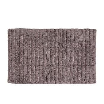 Covor baie din bumbac Zone Tiles, 50 x 80 cm, maro de la Zone