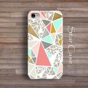 Obal na iPhone 4/4S Geometric Glitter
