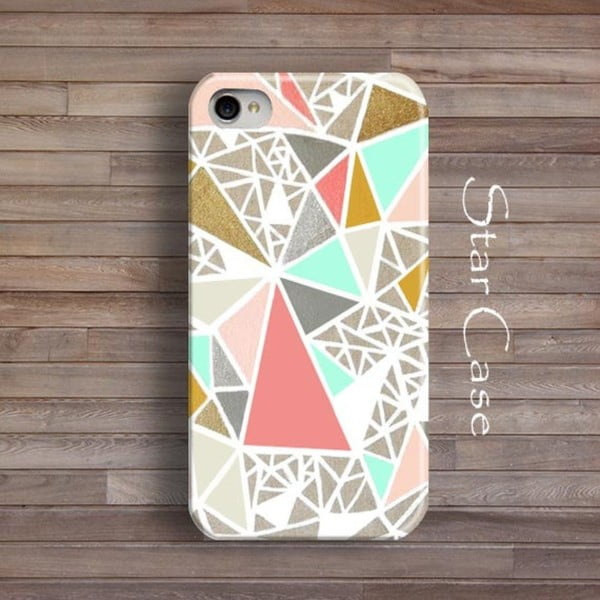 Obal na iPhone 5/5S Geometric Glitter