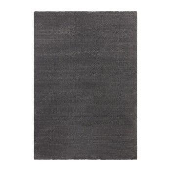 Covor Elle Decor Glow Loos, 200 x 290 cm, gri antracit