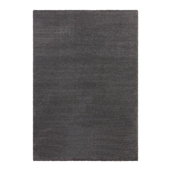 Covor Elle Decor Glow Loos, 160 x 230 cm, gri antracit