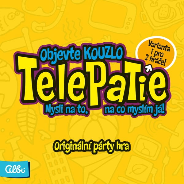 Společenská hra Albi Telepatie