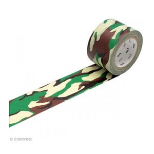 Washi páska MT Masking Tape Camouflage