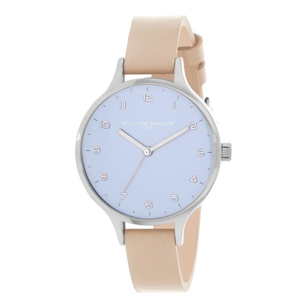 Dámské hodinky s koženým řemínkem William Gregor Lilias  c39d0734e14