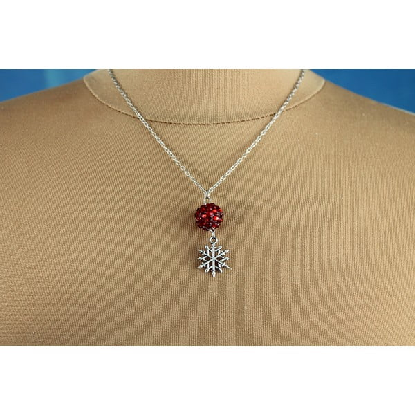 Náhrdelník Christmas Snowflake