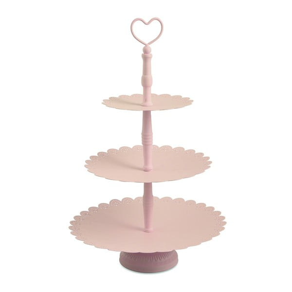 Trojitý stojan na dortíky Piani Rose