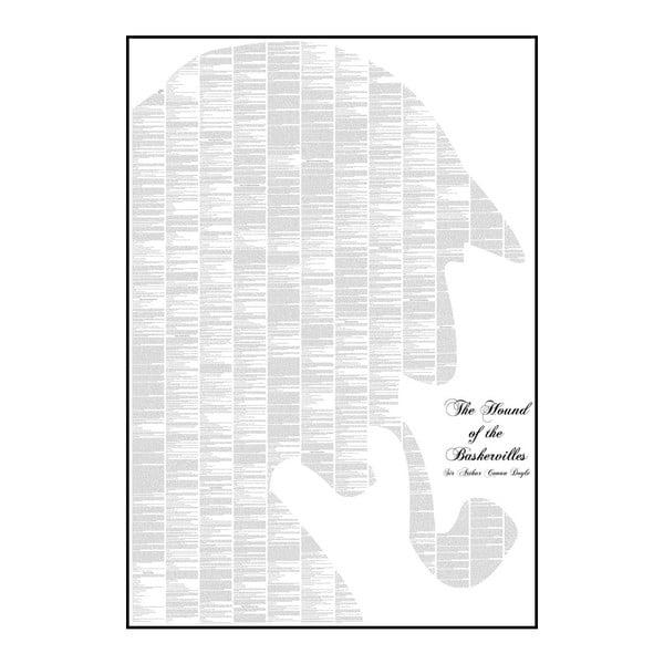 Knižní plakát Pes baskervillský, 70x100 cm