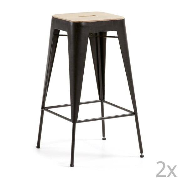 Sada 2 barových stoliček La Forma Vita