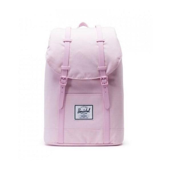 Różowy plecak z różowymi paskami Herschel Retreat