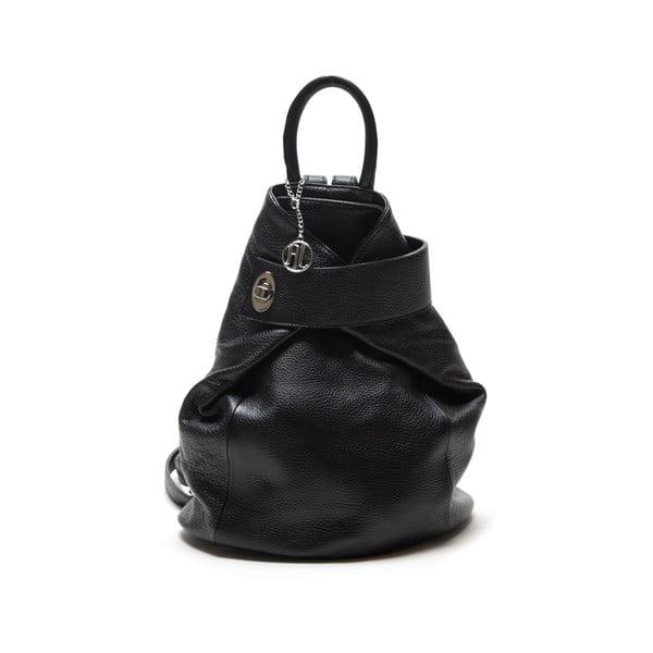Kožený batoh Sonia, černý