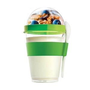 Pahar pentru gustări Yo2GO, ediție nouă, verde