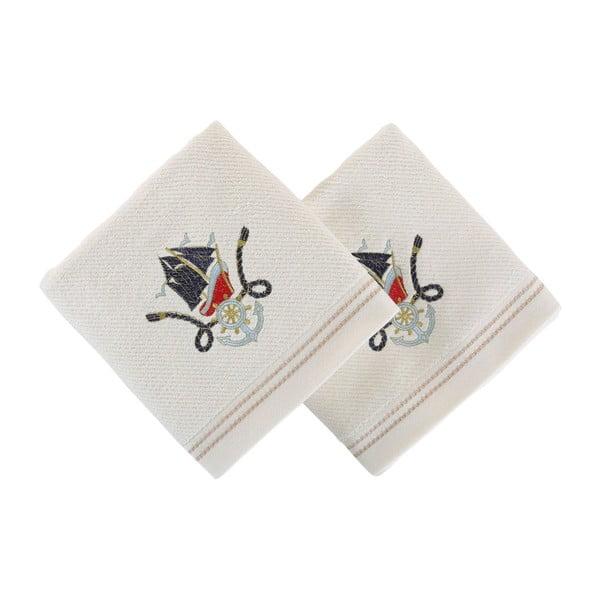 Sada 2 ručníků Mariana Mavi Gemi, 50x100cm
