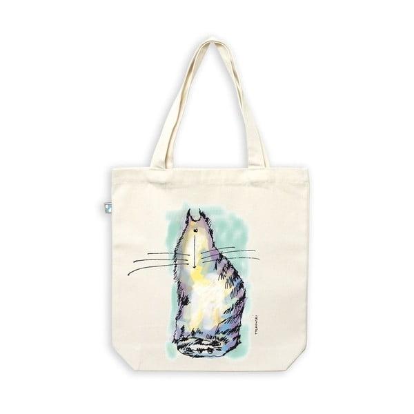 Plátěná taška Kočičí