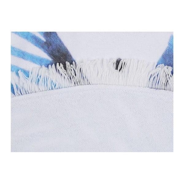 Barevná plážová osuška z bavlny Bamboo, ⌀ 150 cm