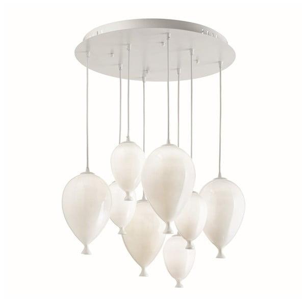 Bílé závěsné svítidlo Evergreen Lights Balloons