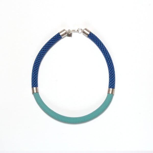 Náhrdelník Mae Short Pistache/Blue
