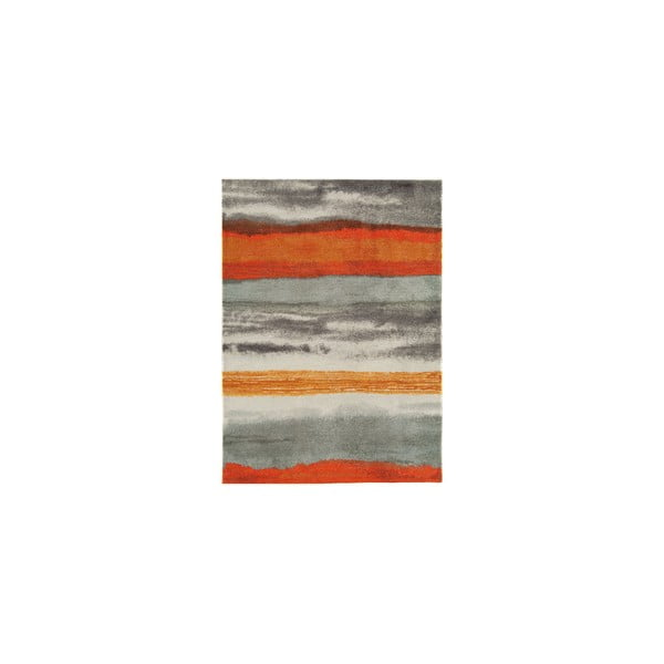 Koberec Boca Oslo Stripe Orange, 160x230 cm