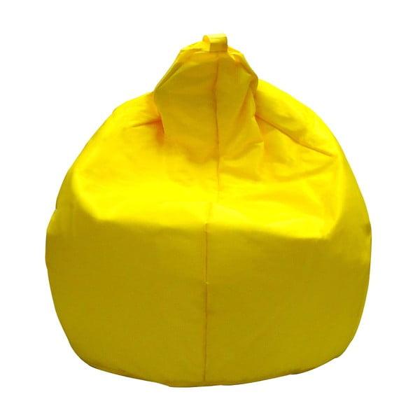 Žlutý sedací vak 13Casa Droplet